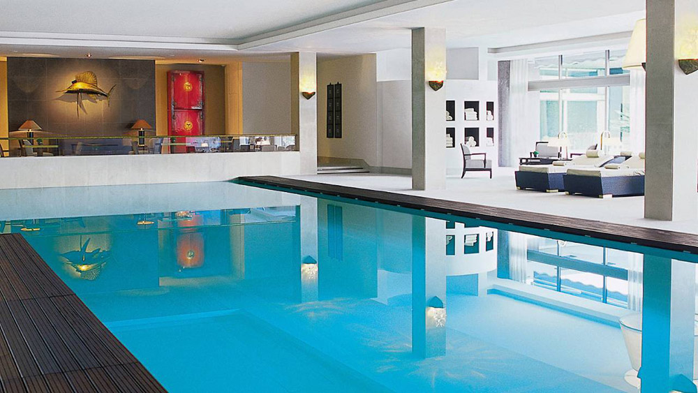 Indoor Pool at Four Seasons Ritz Lisbon, Portugal