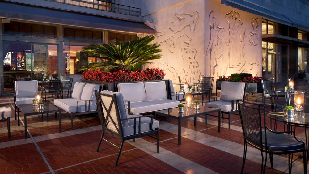 Terrace Lounge at Four Seasons Ritz Lisbon, Portugal