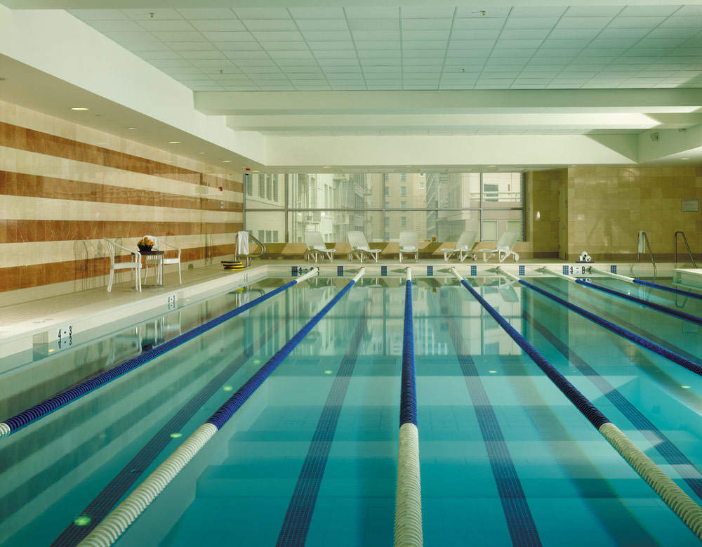 Indoor Pool at Four Seasons San Francisco