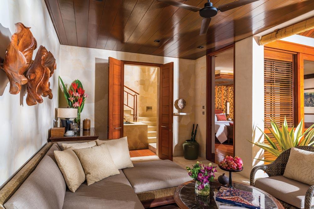 Suite Family Room at Four Seasons Sayan Bali, Indonesia