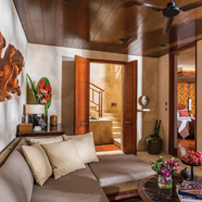Suite Family Room at Four Seasons Sayan BaliIndonesia
