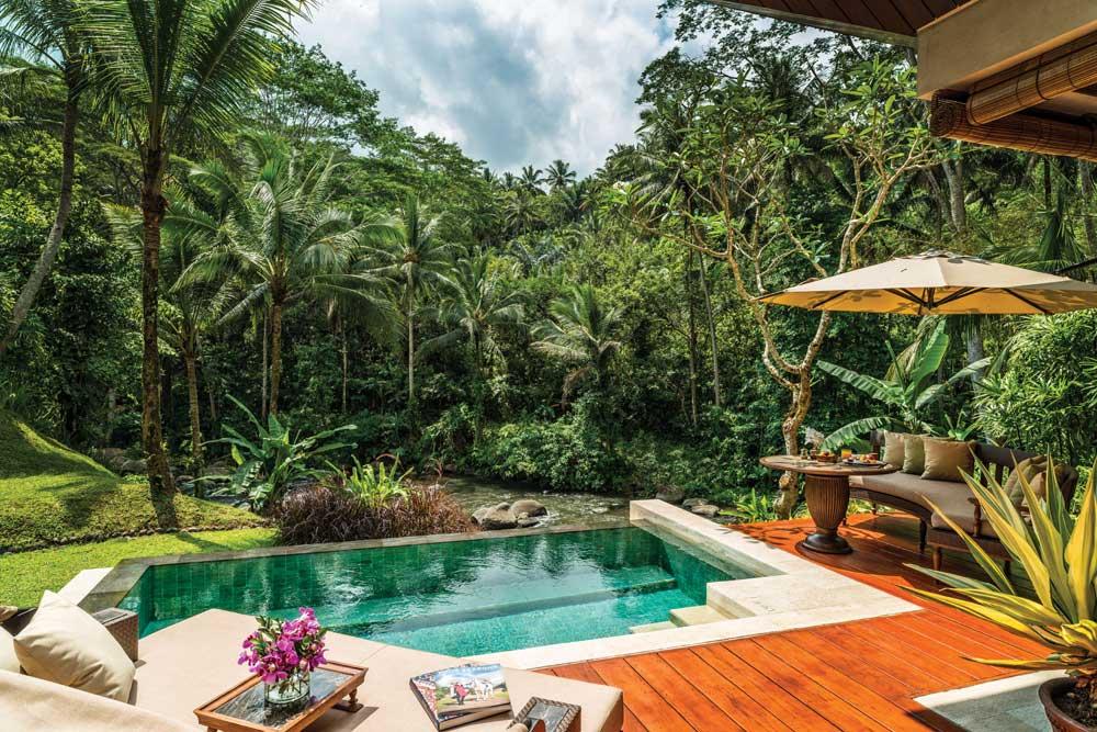 Pool Villa at Four Seasons Sayan BaliIndonesia