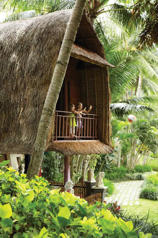 Massage Cabin at Four Seasons Bali Sayan, Indonesia