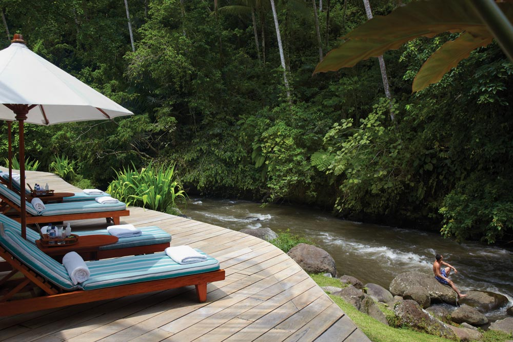 Four Seasons Sayan Bali, Indonesia