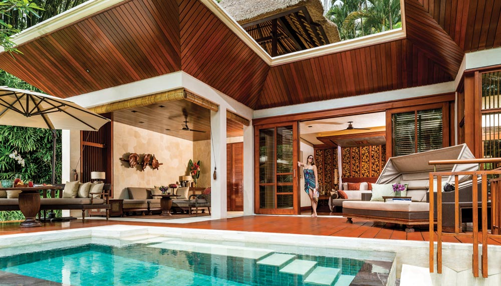 Pool Villa at Four Seasons Sayan Bali, Indonesia