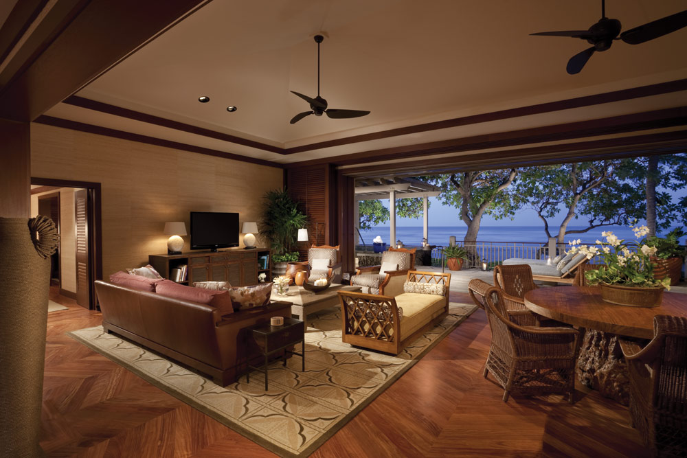 Suite Living Area at Four Seasons Hualalai KonaHawaiiUnited States