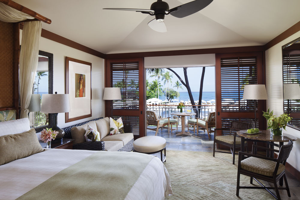 Guestroom at Four Seasons Hualalai KonaHawaiiUnited States