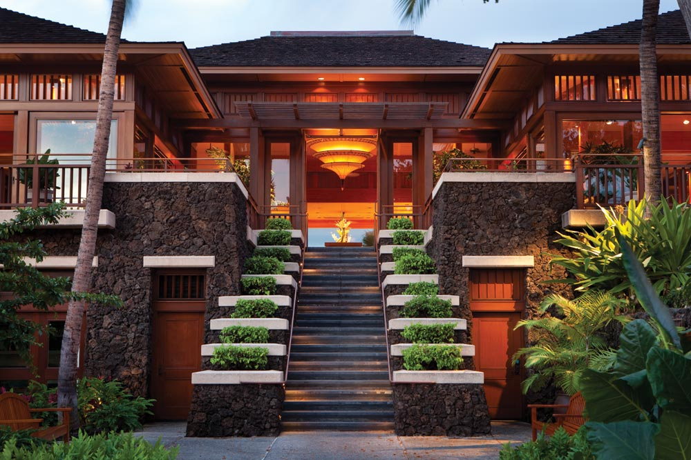 Entrance of Four Seasons Hualalai KonaHawaiiUnited States