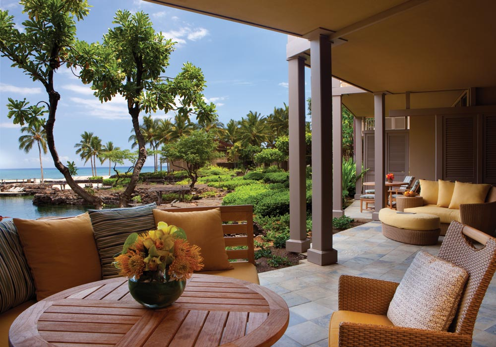 Terrace at Four Seasons Hualalai KonaHawaiiUnited States