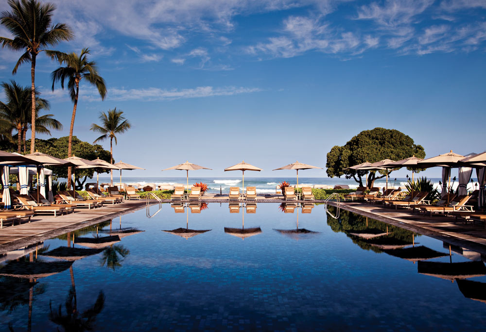 Pool at the Four Seasons Hualalai Kona