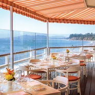 Terrace Dining at Four Seasons Santa Barbara Biltmore
