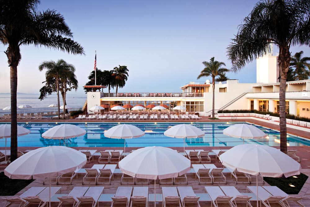 Pool at Four Seasons Santa Barbara Biltmore