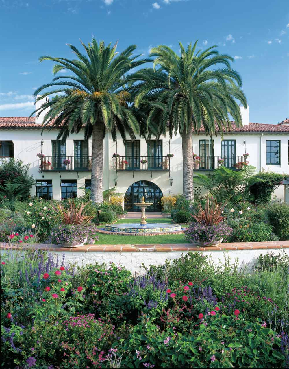 Exterior of Four Seasons Santa Barbara Biltmore