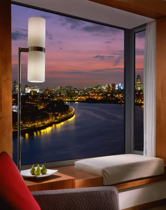 Four Seasons Canary Wharf London View from Deluxe Room