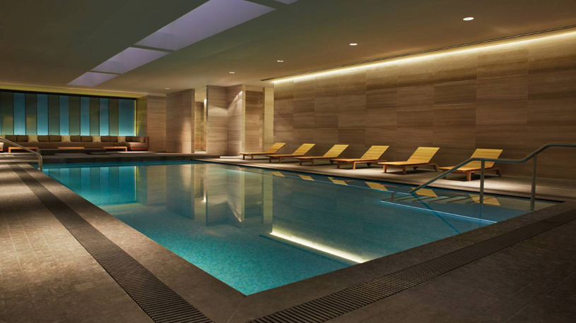 Four Seasons Toronto Indoor Pool