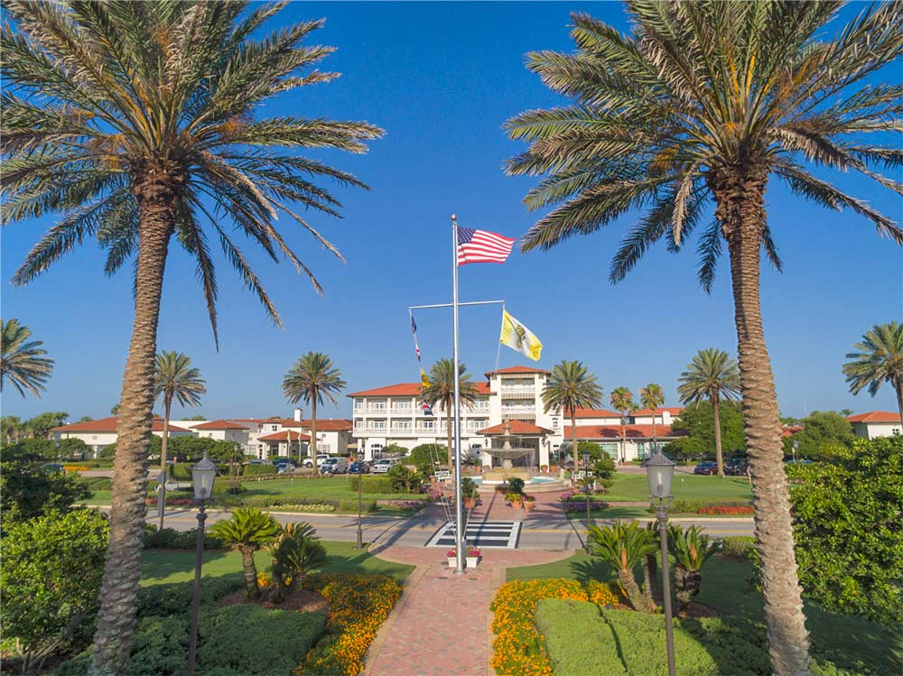 Front entrance of Ponte Vedra Inn And ClubFL