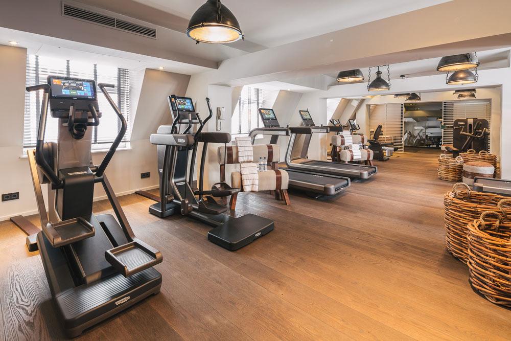 Fitness Center at Fairmont View Jahreszeiten HamburgGermany