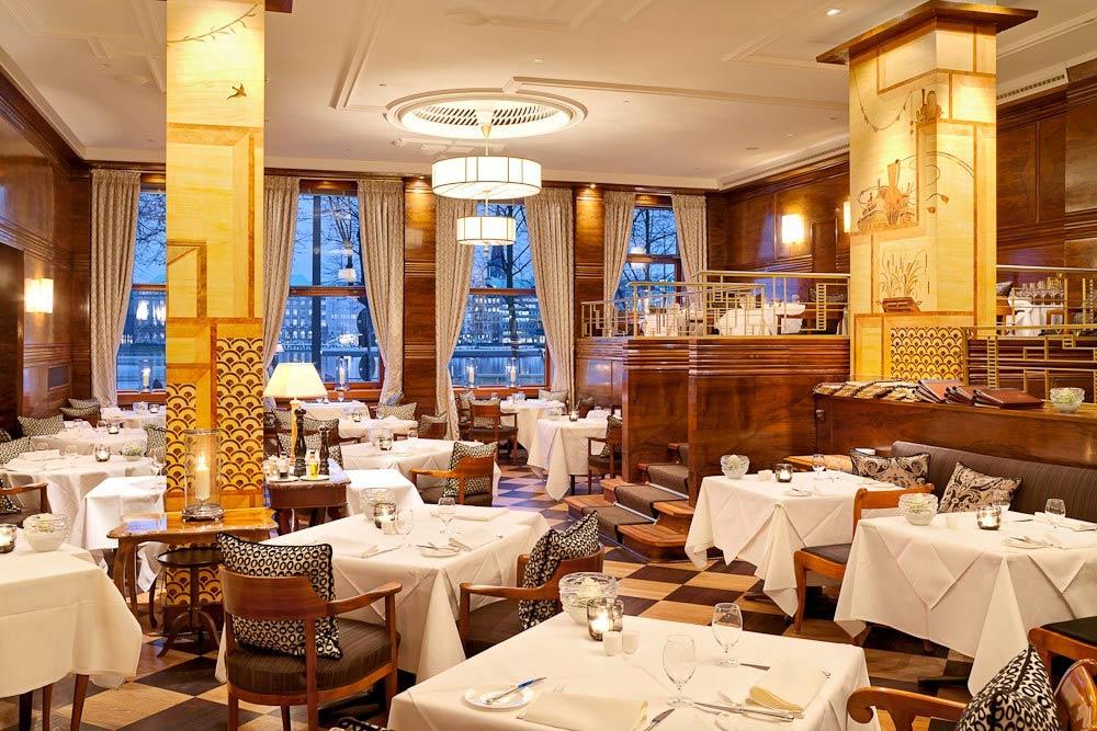 Jahreszeiten Dining at Fairmont View Jahreszeiten HamburgGermany