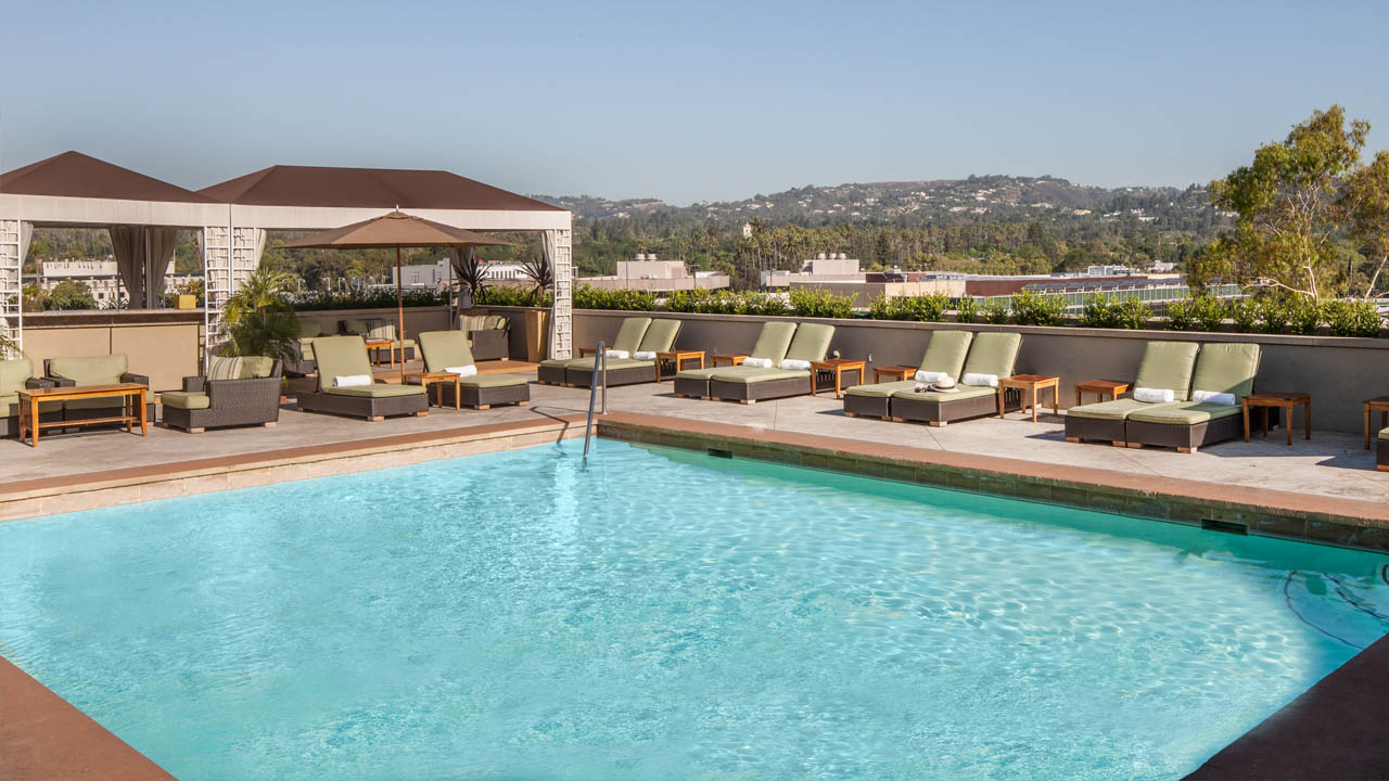 LErmitage Beverly Hills Pool