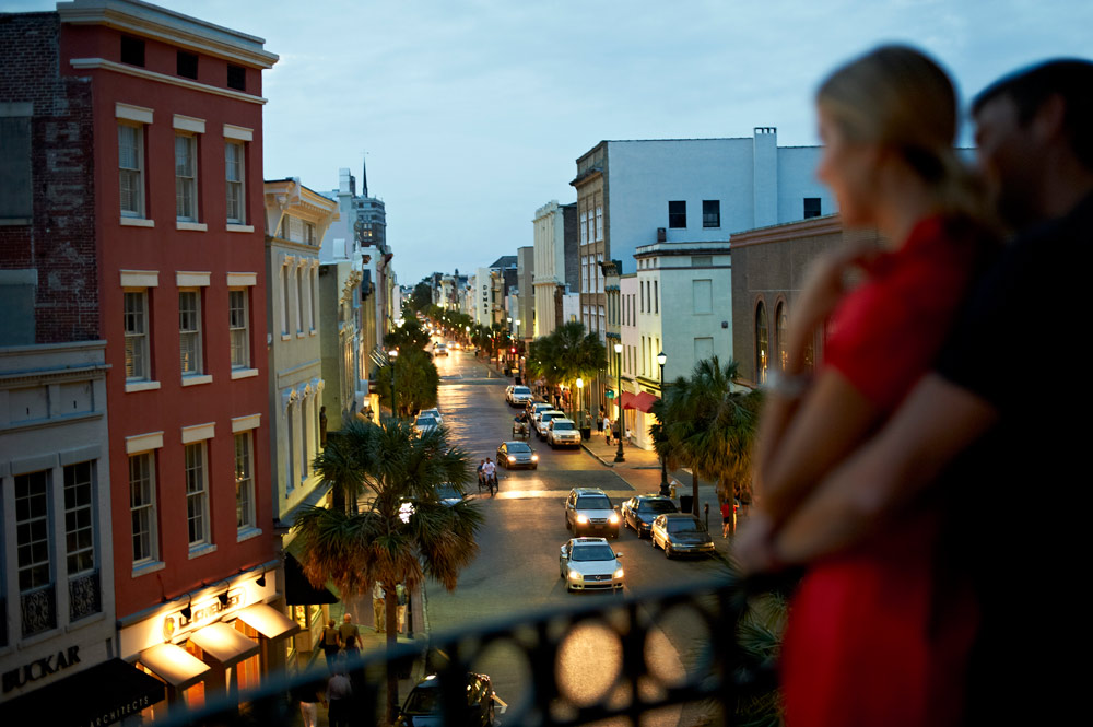 Enjoy views of historic King Street at Belmond Charleston Place