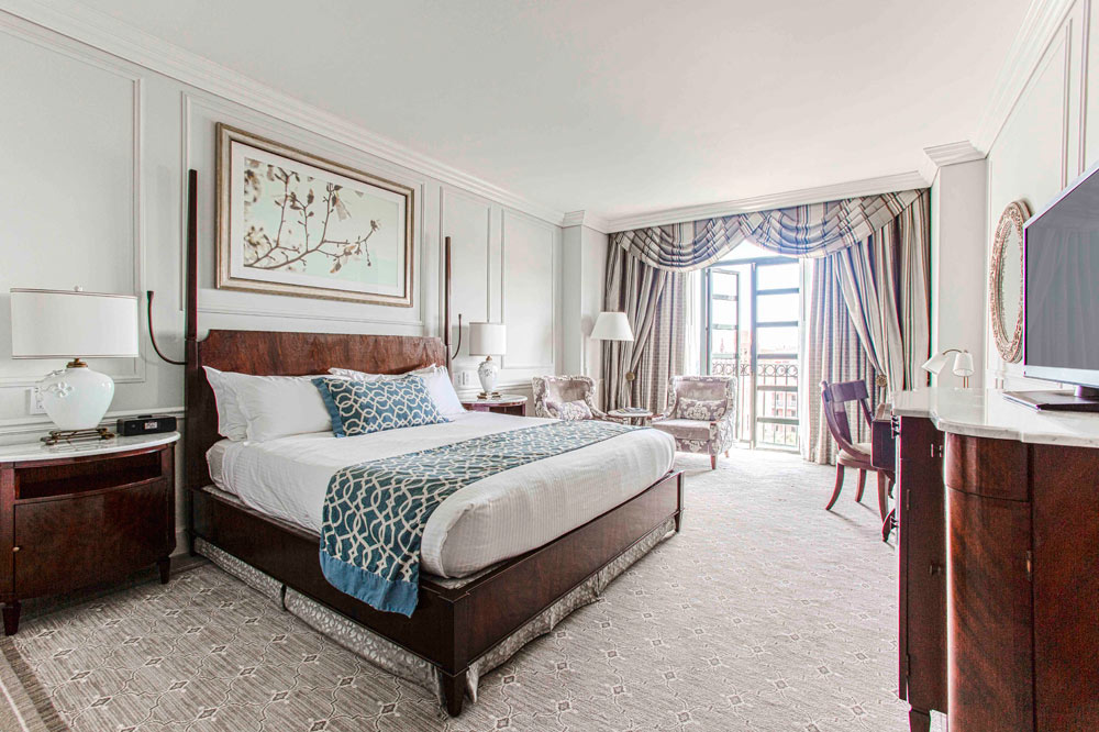 Premier balcony guestroom at Belmond Charleston PlaceCharlestonSC