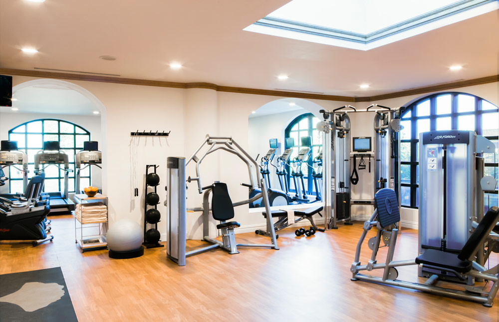 The Fitness Center at the Belmond Charleston Place in CharlestonSC