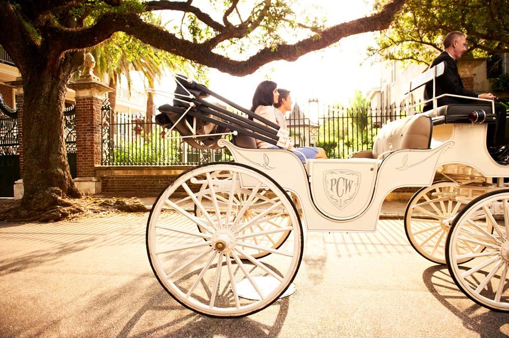 Charleston Carriage Ride at Belmond Charleston Place