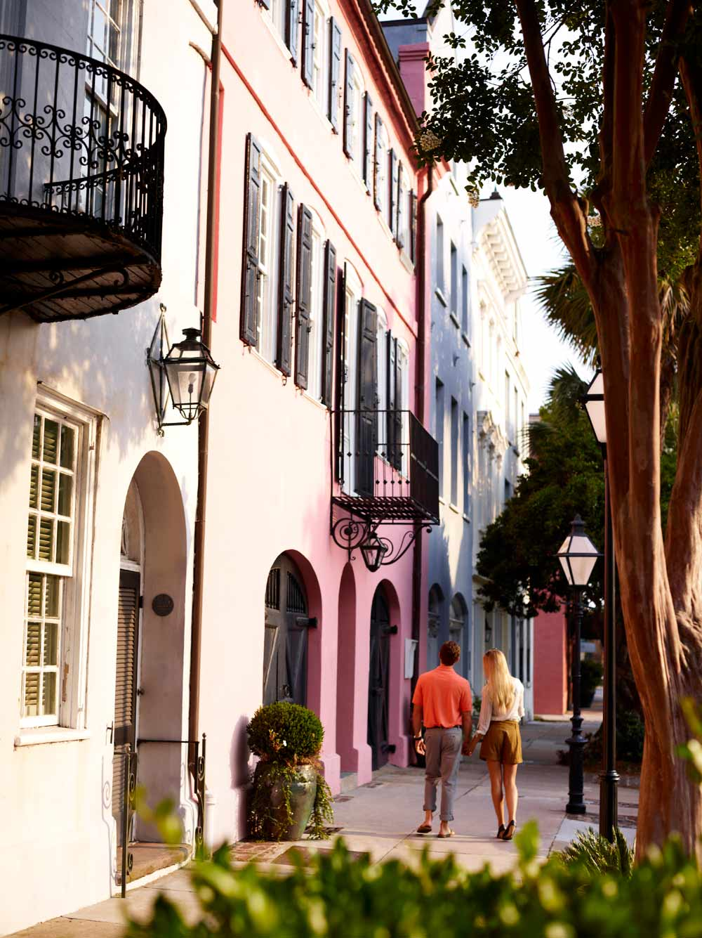 Explore Rainbow RowBelmond Charleston PlaceCharlestonSC