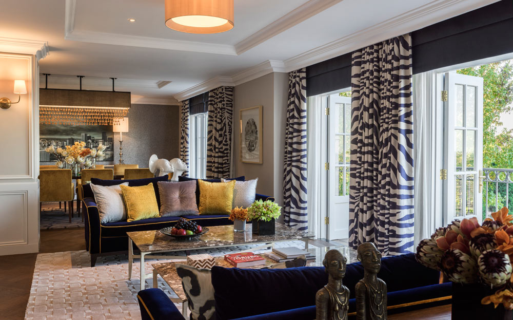 Suite Living Area at Four Seasons Hotel WestcliffJohannesburgSouth Africa