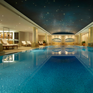 Underground Swimming Pool at The Langham Sydney