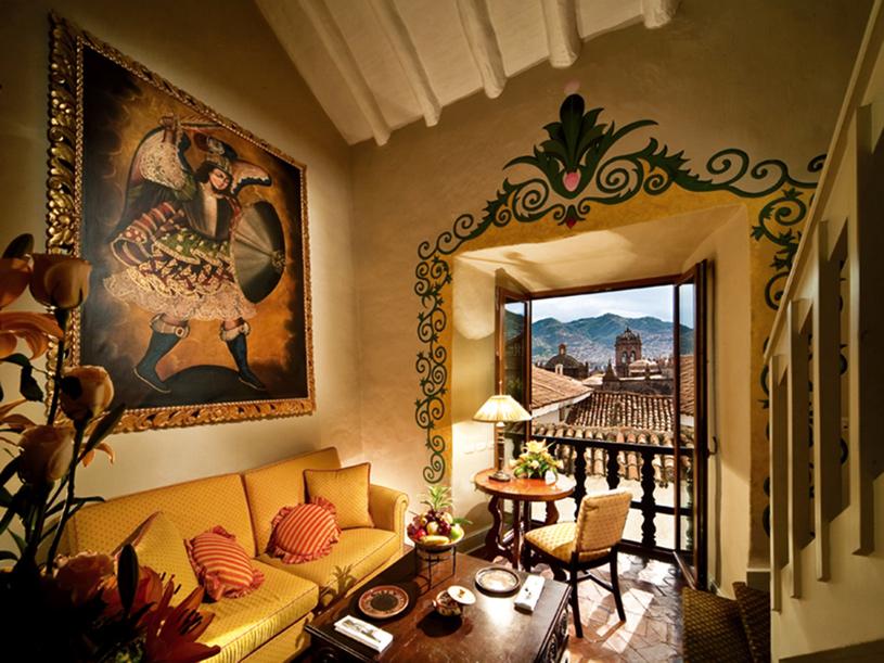 Hotel Monasterio Del Cusco Sitting Area