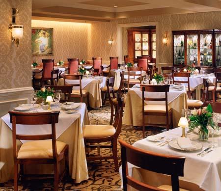 Sutton Place Vancouver Fleuri Dining