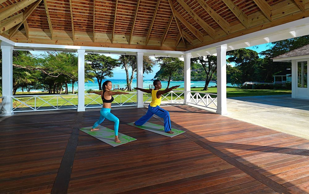 Yoga Pavilion at Round Hill Hotel And Villas Montego Bay, Jamaica