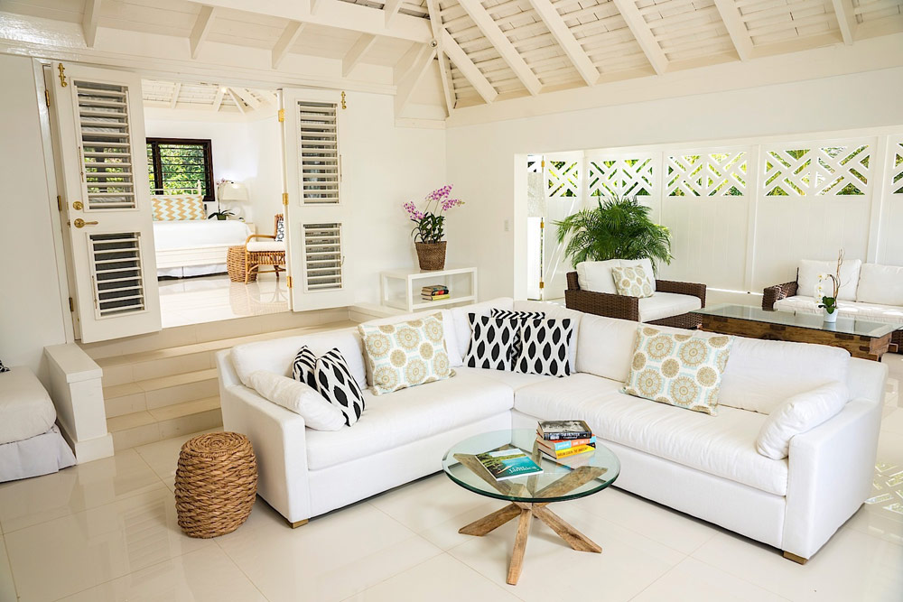 Villa Family Room at Round Hill Hotel And Villas Montego Bay, Jamaica