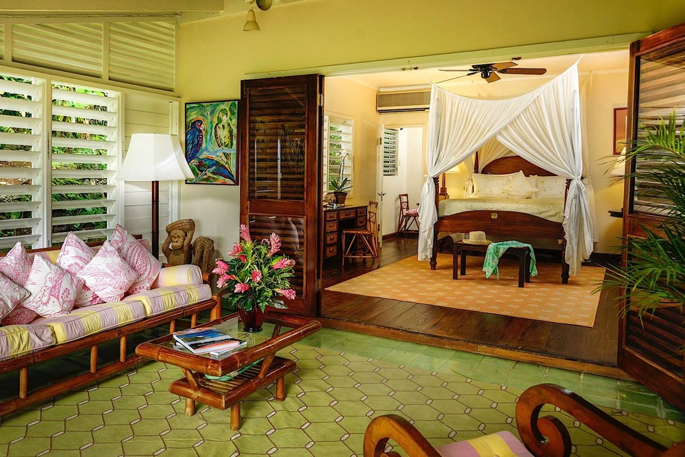 Deluxe Villa Suite at Round Hill Hotel And Villas Montego Bay, Jamaica