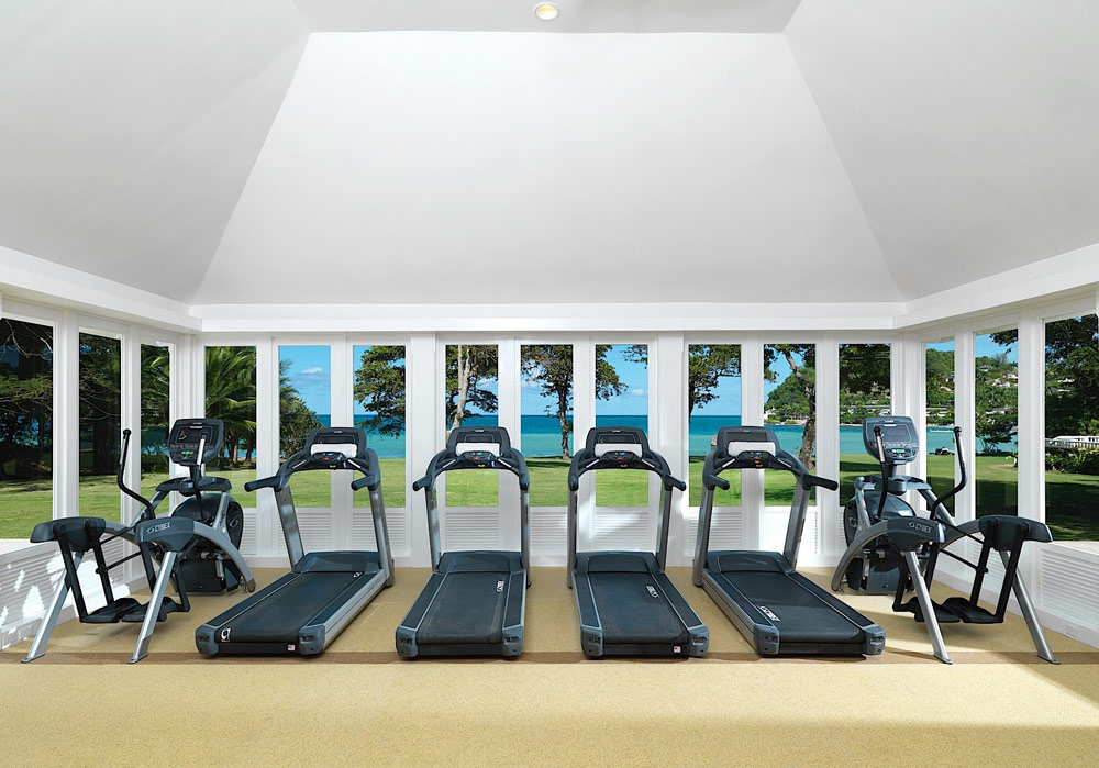 Fitness Center at Round Hill Hotel And Villas Montego Bay, Jamaica