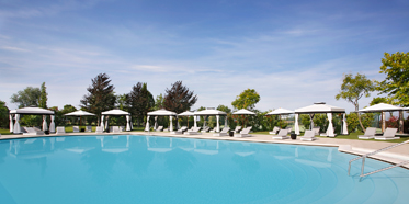 Outdoor Pool at San Clemente Palace, Italy
