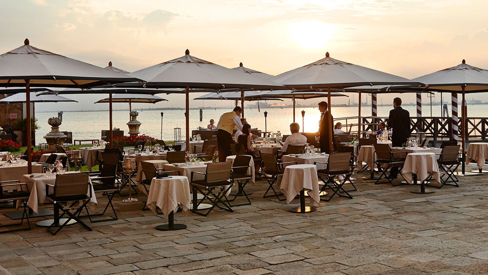 Dining Terrace at San Clemente PalaceItaly