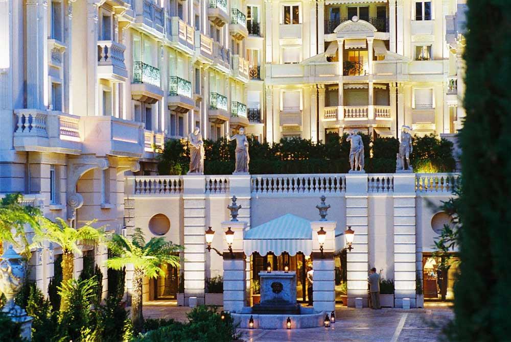 Exterior of Hotel Metropole Monte Carlo