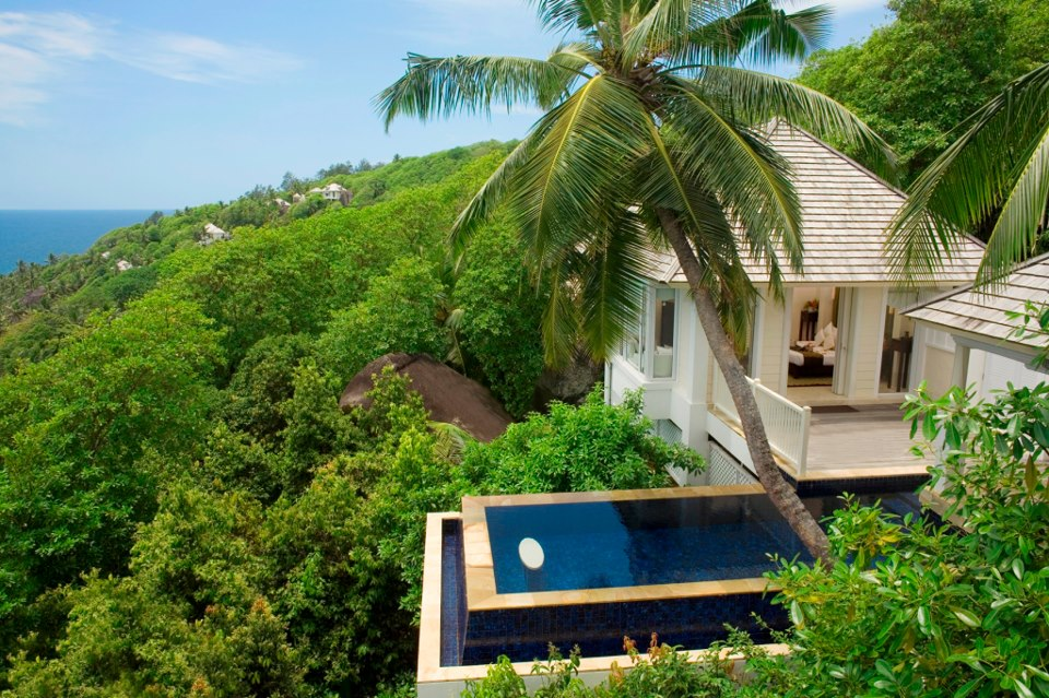 Banyan Tree Seychelles Intendance Pool Villa is a classic example of traditional architecture