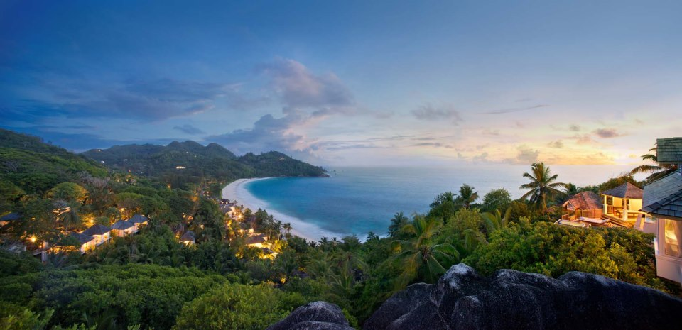 Banyan Tree Seychelles Panoramic View