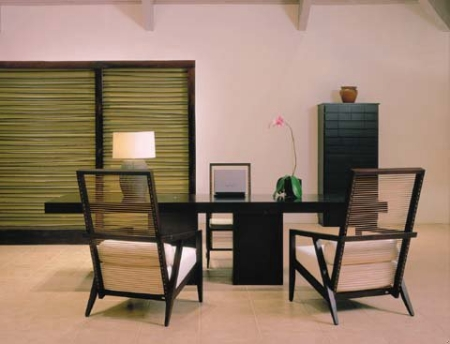 Contemporary Furniture in the Pavilion