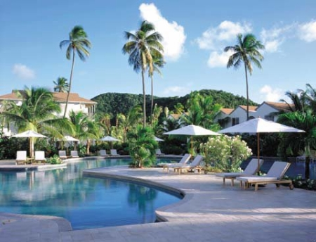 Pool at Carlisle Bay