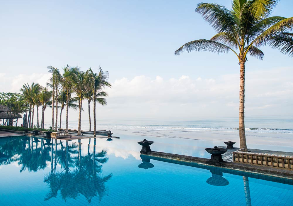 Three Tier Resort Pool at Legion Bali