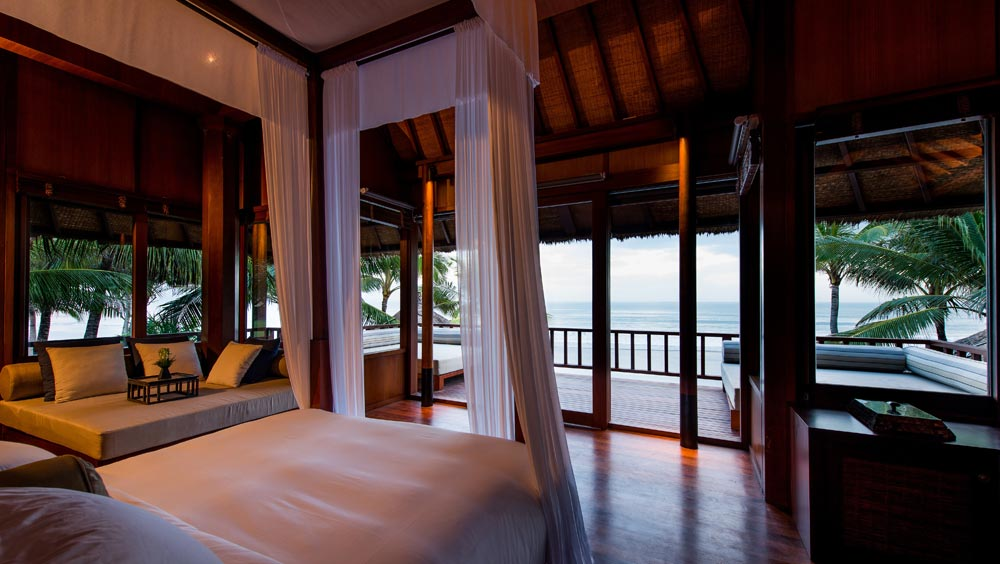 Main Bedroom of the Beach House at Legion Bali