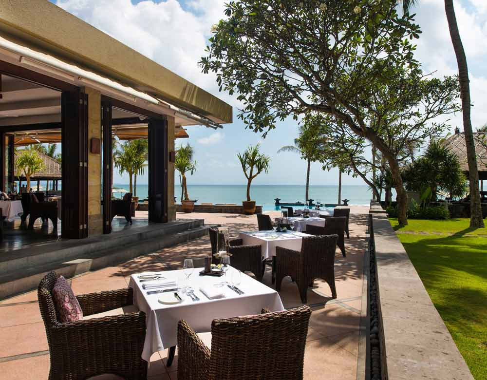 The Restaurant Terrace at Legion Bali
