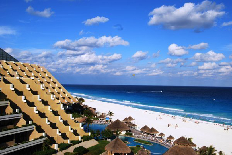 Paradisus Cancun exterior view