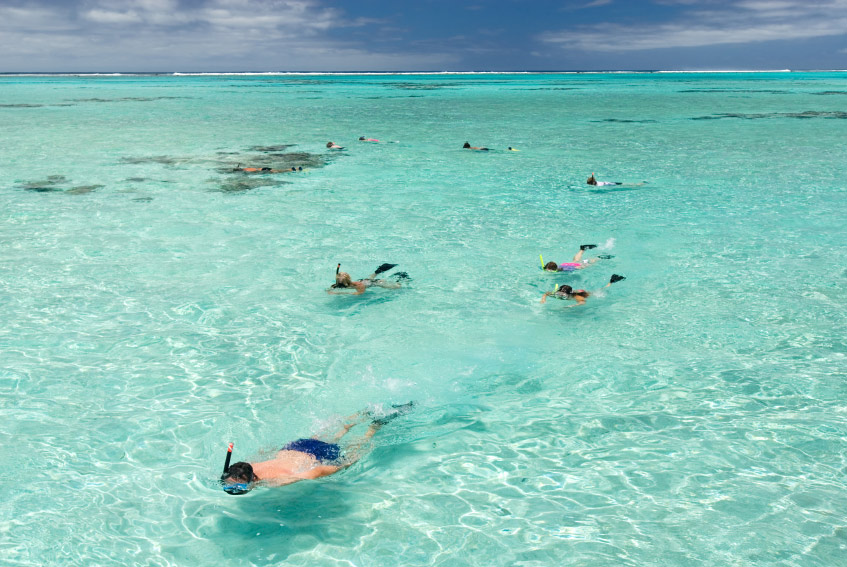 Snorkeling in Anguillas Turquoise Waters at Malliouhana Hotel And Spa