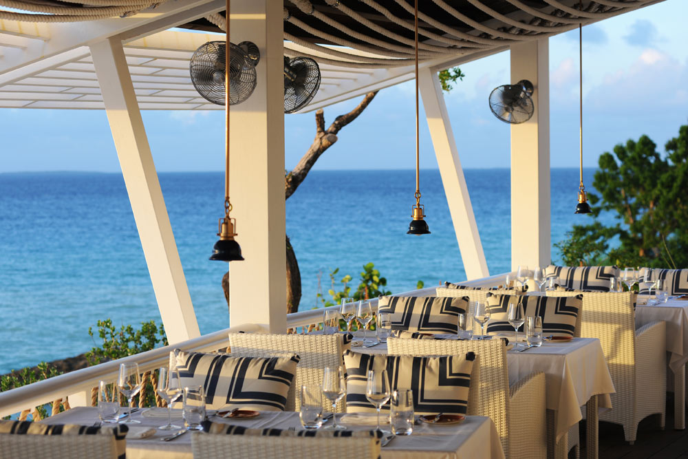 Restaurant at Malliouhana Hotel And Spa