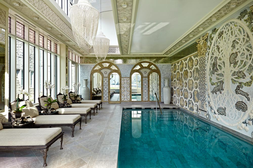 Indoor Pool at Ashford Castle, County Mayo, Ireland